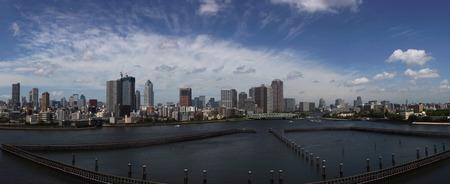 Panorama of Tokyo, Japan. Stock Photo