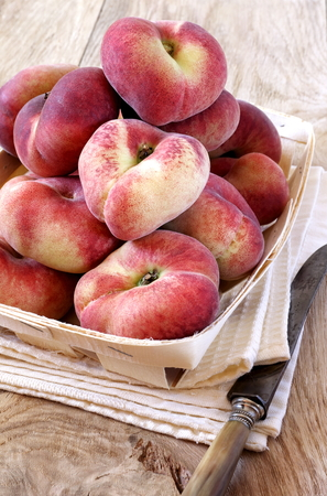 sappy: Donut Peach Stock Photo