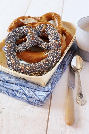palatable: Traditional alsatian pastry: Assortment of Alsatian Bretzels