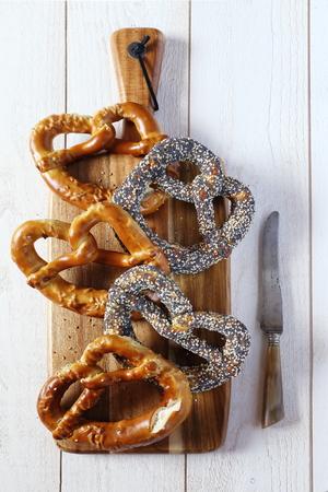 alsatian: Traditional alsatian pastry: Assortment of Alsatian Bretzels