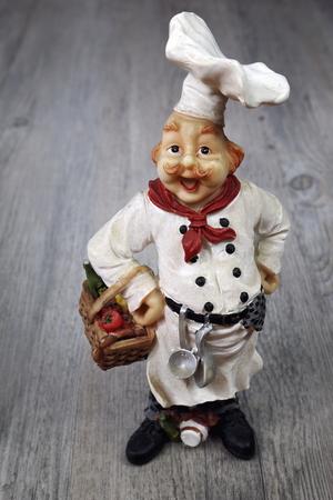 ravishing: Vintage figurine: French head-cook
