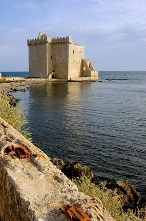 openspace: French Riviera, the Lerins Islands : fortified monastery of abbey Saint-Honorat