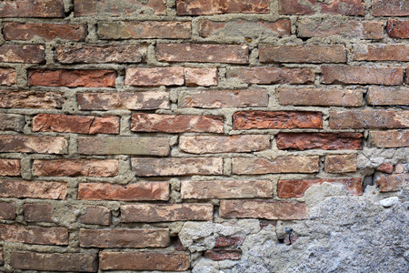 slovenly: Texture: old brickwork and modern stucco layer