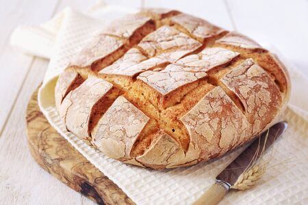 campagne: French country bread and bred grains