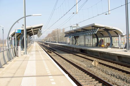 Empty station Arnhem zuid in the Netherlands