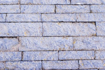 Dirty blue street stone pattern background
