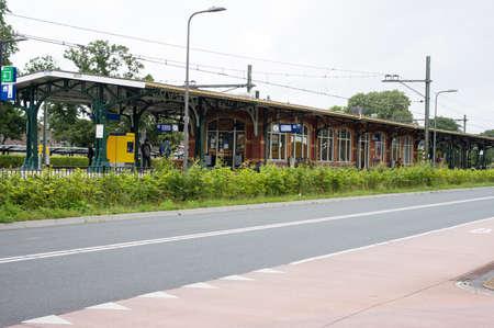 Dieren Netherlands - July 29, 2021: Building of the train station of Dieren