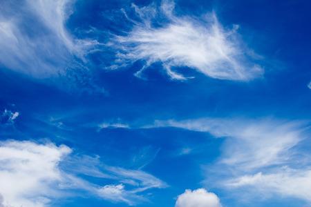 Blue sky (clouds)