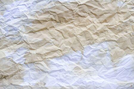 crumpled paper texture: Paper crumpled paper texture Stock Photo