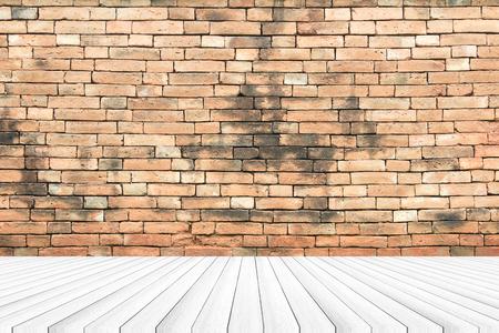wooden boards: Brick walls, wood boards