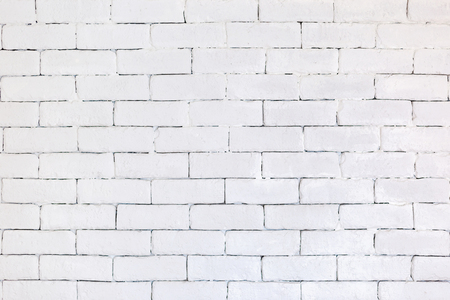 White brick walls and Plank floor. Ideas for interior and exterior decoration concepts of simplicity furniture.