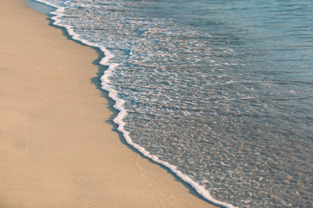 Ocean and sand nature background abstract style