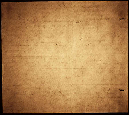 empty tomb: Mystical old brown paper with dark borders