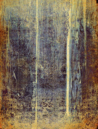 Colored abstract wooden vintage background with dark borders Stock Photo
