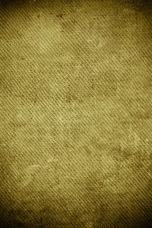Vintage colors old stained burlap background Reklamní fotografie