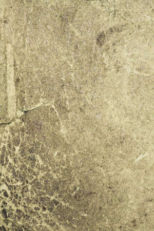 Shabby torn book cover antique background with scratched texture Stock Photo
