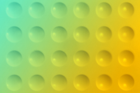 Abstract blurred background with notches and gradient (green and yellow colors)