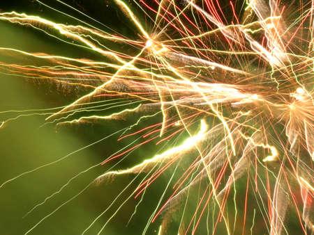 cel: Fuochi d'artificio Contesto Archivio Fotografico
