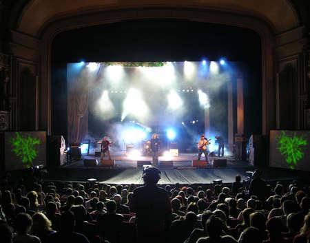 performace:  Rock Concert