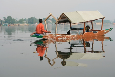kashmir: The paradise on earth in kashmir , dal lake