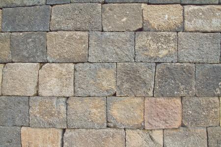 buliding: Stone used as a wall borobudor