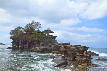 Temple Tanah lot in Bali photo