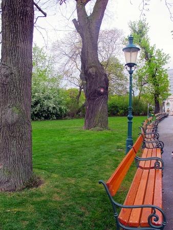 Stadtpark beautiful garden Vienna Stock Photo - 13595194