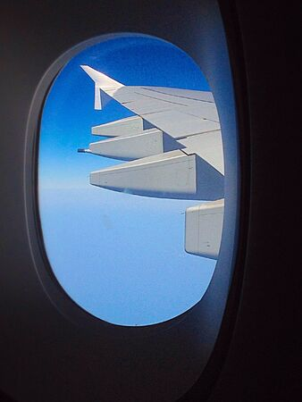 lock out: Lock out the window wing aircraft