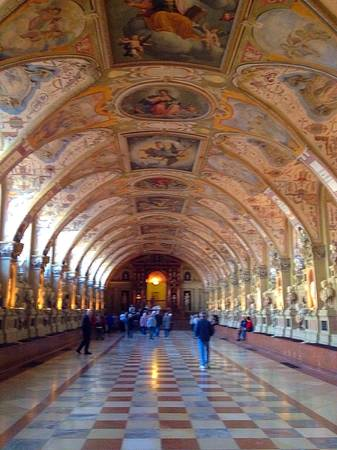 architecture: The architecture building in Residenz Museum Stock Photo