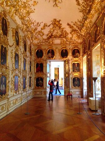 residenz: The architecture building in Residenz Museum Stock Photo
