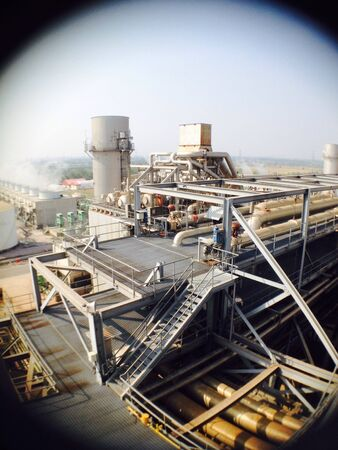 industry: Fisheye lens with industry structure