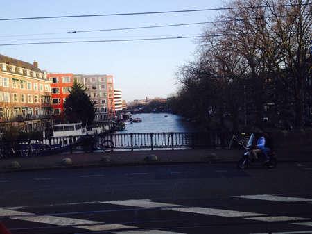 architecture: Architecture building area Amsterdam-Singelgacht