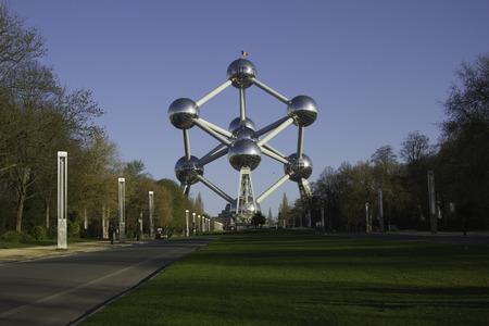 Architecture Atomium Belgium 50 years ago 新闻类图片