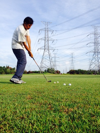 iron: The morning golf for health