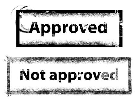 approved stamp photo