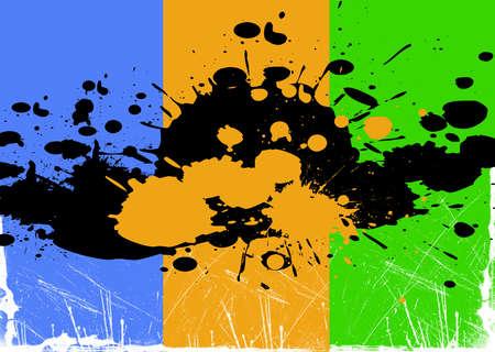 splashed: Splashed background Stock Photo