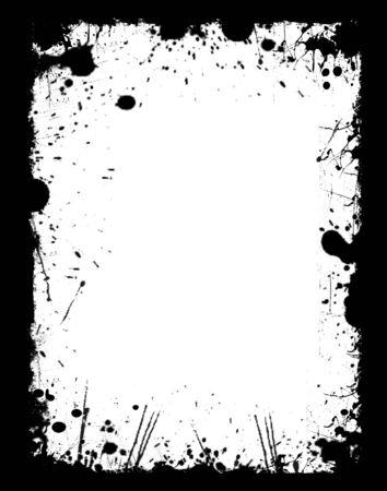 sun burnt: Grunge frame
