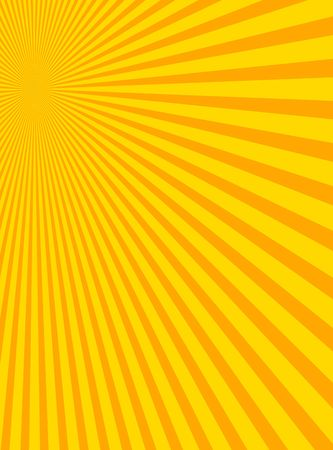 splotchy: Sunburst with yellow and orange colors