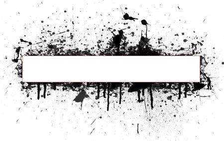 splashed: Abstract Splashed backgroundi
