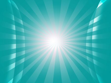 Abstract  background in sunburst photo
