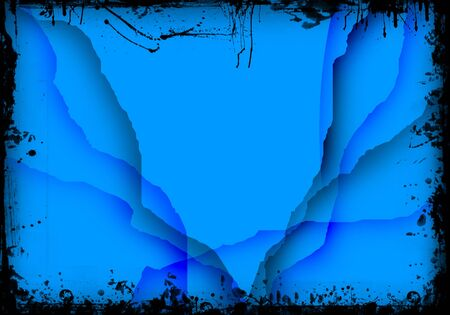 Abstract  background in grunge photo