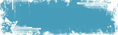 Grunge web banner photo
