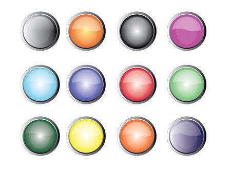 minimize: button Stock Photo