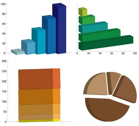 Graph of success Stock Photo