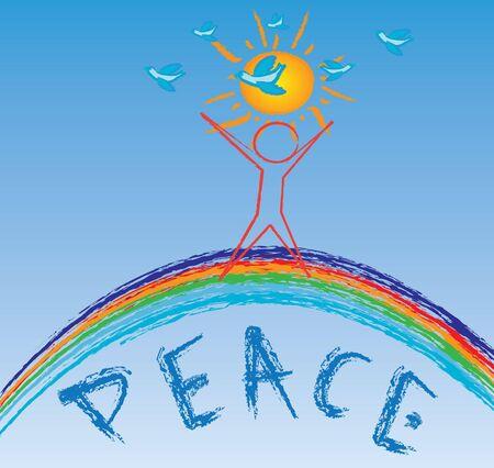 peace kids photo