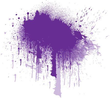 splashed: Abstract Splashed background
