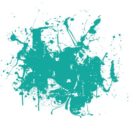 Splat overlay ed Stock Photo - 3110211