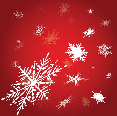 snowflake background photo