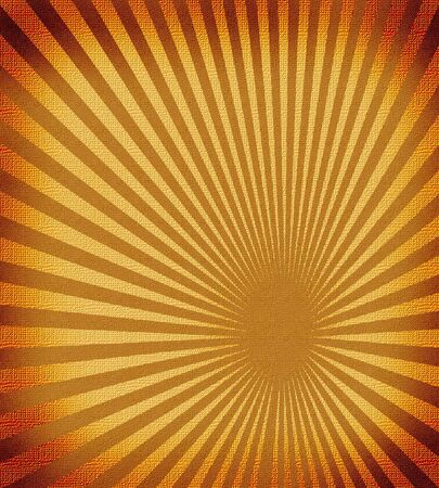 old paper with sunburst