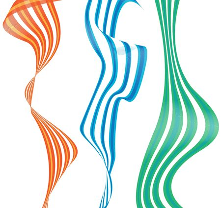 abstract wave  back ground Stock Photo - 3359645